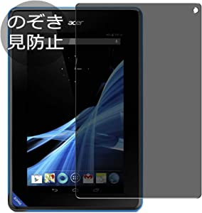 "Synvy Privacy Screen Protector Film for Acer Iconia Tablet B1-A71 7"" Tab 0.14mm Anti Spy Protective Protectors [Not Tempered Glass]"