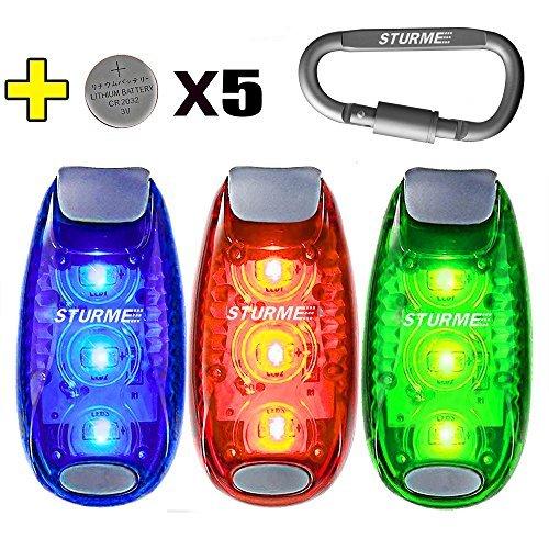 STURME LED Safety Light Strobe Lights for Daytime