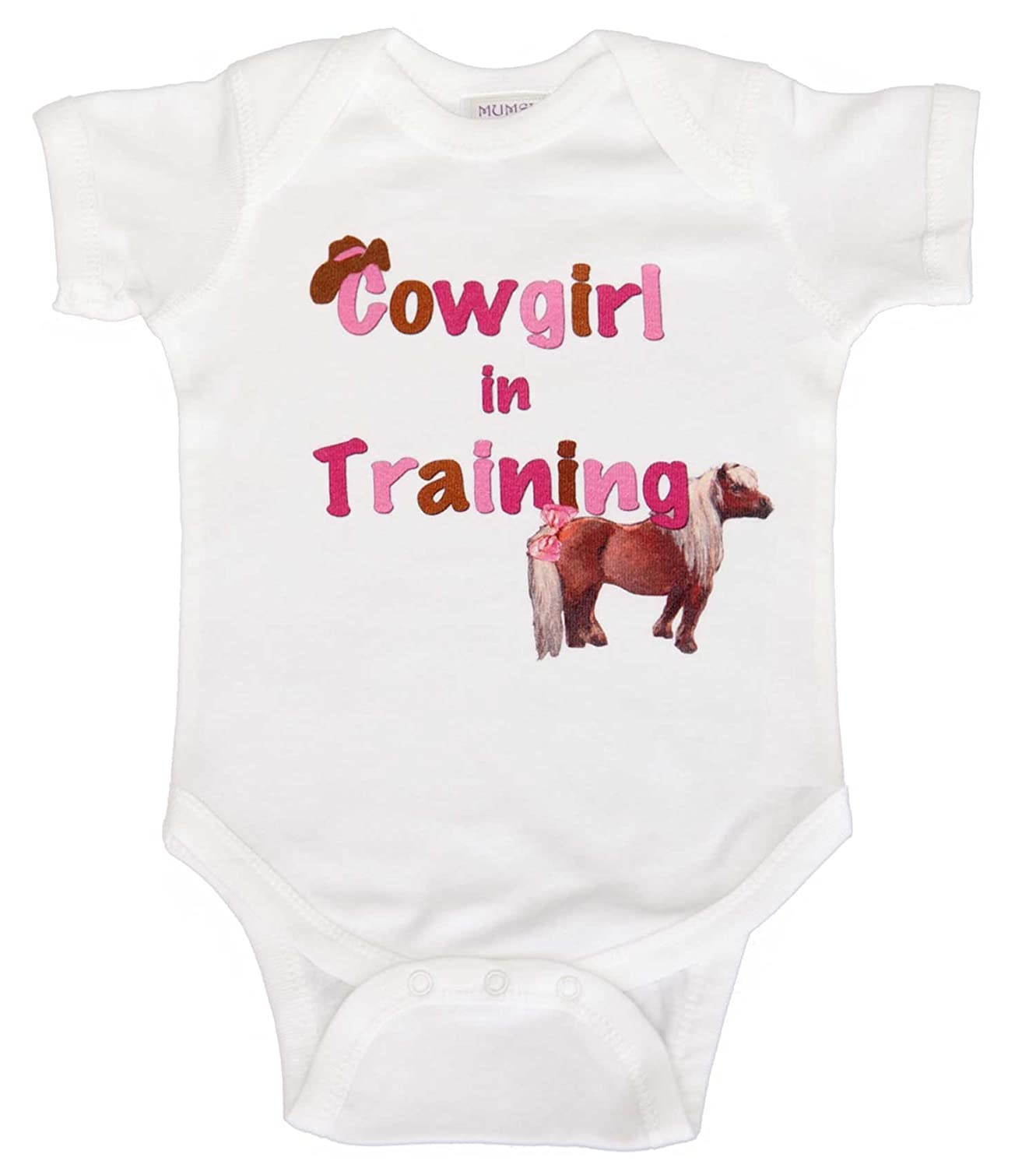 Mumsy Goose Baby Girls' Bodysuit Cowgirl