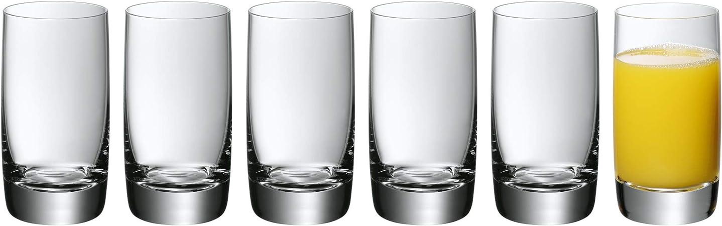 WMF Easy Juego 6 Vasos para Zumo, Vidrio: Amazon.es: Hogar