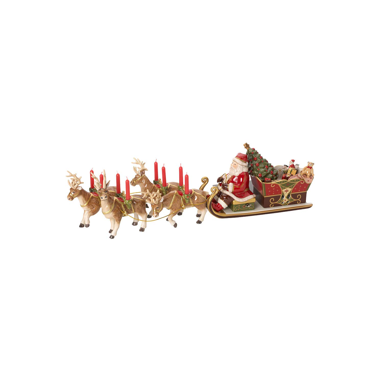 Villeroy /& Boch Christmas Toys Memory Santas Sleigh-Ride