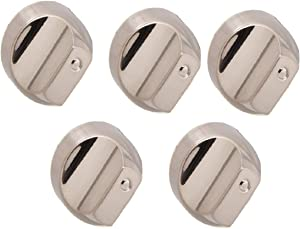 5x WB03X25889, WB03X32194, WB03T10329 Replacement Knobs for GE Cafe Stove Gas Range, 5-Pack
