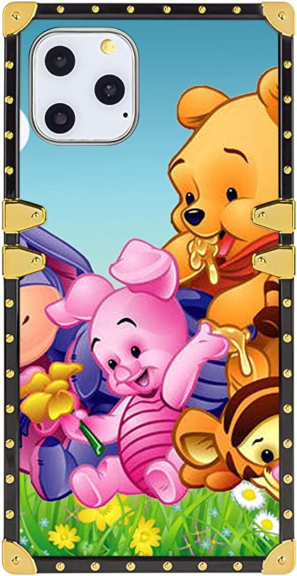 Amazon Com Disney Collection Square Cell Phone Case For Apple