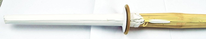 Senshi Japan Heavy Duty Shinai With Free Tsuba Kendo Martial Arts Weapon Made of Bamboo Size:120 cm Long