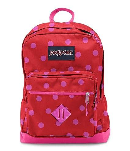 59bb46adf694 JanSport City Scout Backpack - Coral Dusk Spots   18 quot H x 13 quot W