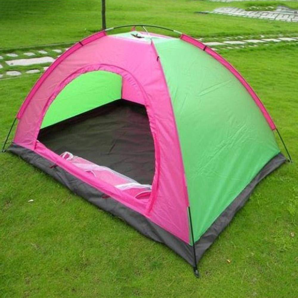 Lxj Outdoor-Zelt im Freien Double-Double-Layer Paar Wasserdichte Camping Zelt Outdoor Zelten Zelt 200  150  h110cm