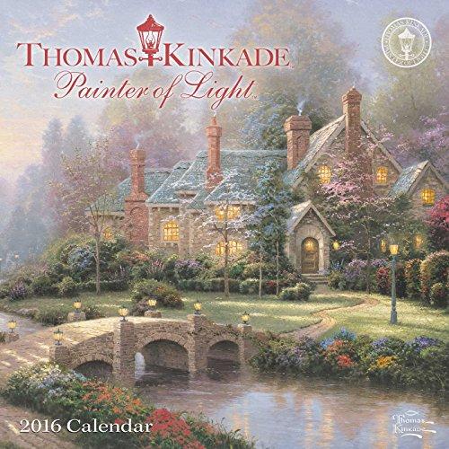 Thomas Kinkade Painter Of Light 2016 Mini Wall Calendar