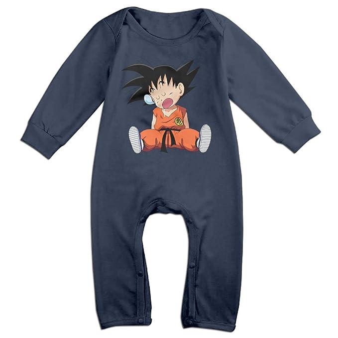 d5d93135e06c Dragon Ball Goku Baby Costume Newborn Infant Boy Clothes Romper ...