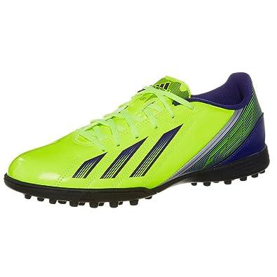c7ff3daebfd2 Adidas F5 TRX Astro Turf Football Boots - Neon Yellow 8.5 UK  Amazon ...