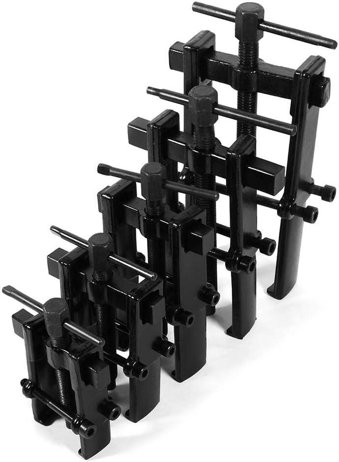 Keenso Outil de Suppression Extracteur de Vitesse de Roulement /à 2 M/âchoires Outil de D/écapant de Pignon en Acier au Carbone R/églable Remover Extracteur /à Engrenage 8 70 x 120 mm