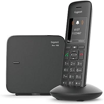 Gigaset C570 - Teléfono (Teléfono DECT, Terminal inalámbrico, Altavoz, 200 entradas, Identificador de Llamadas,Sin Contestador, Negro): Amazon.es: Electrónica
