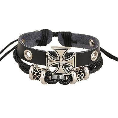 Amazon Com Unisex Bracelet Men S Leather Personalized Bracelet Mens