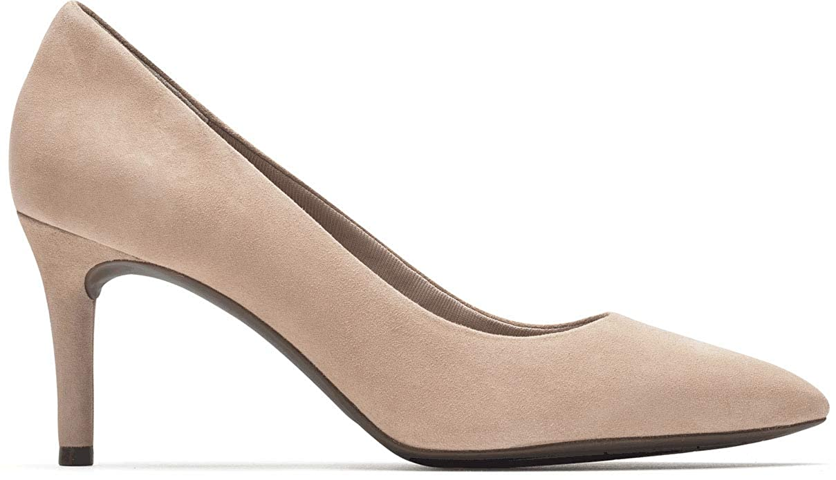 Dusty Peach Rockport Women's Total Motion 75mm Pointy Pump