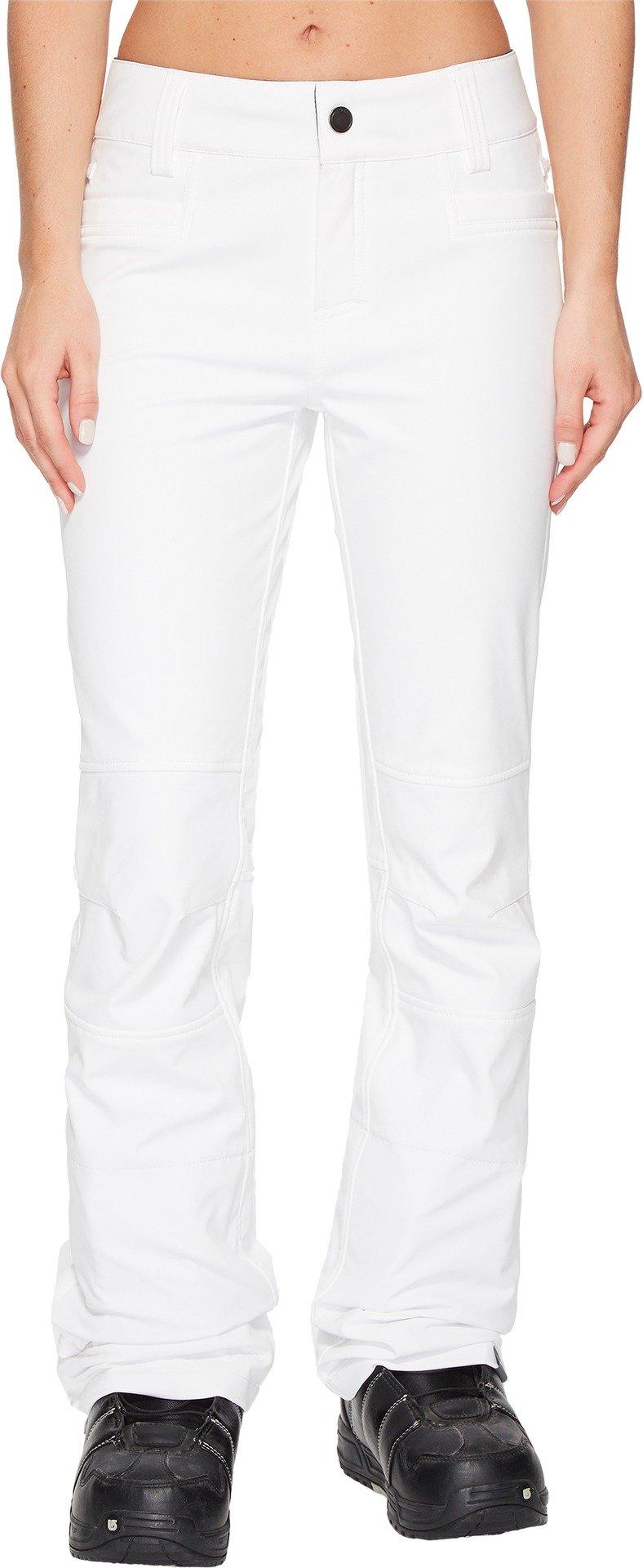 Roxy Snow Junior's Creek Snow Pant, Bright White New, XL