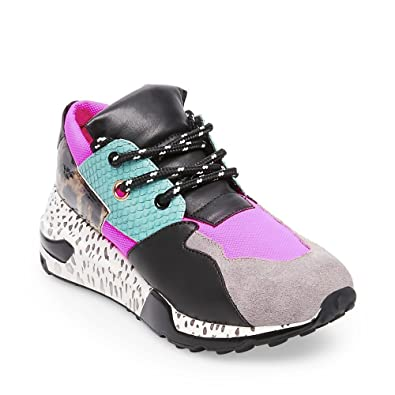 52a5512b659 Steve Madden Women s Cliff Sneaker Bright Multi 5 B(M) US  Buy Online at  Low Prices in India - Amazon.in