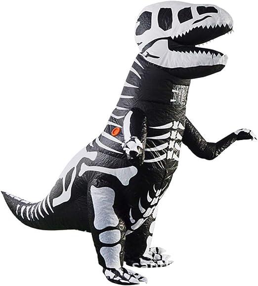 HXYL Disfraz De Dinosaurio Disfraz De Halloween Adulto, Bone ...