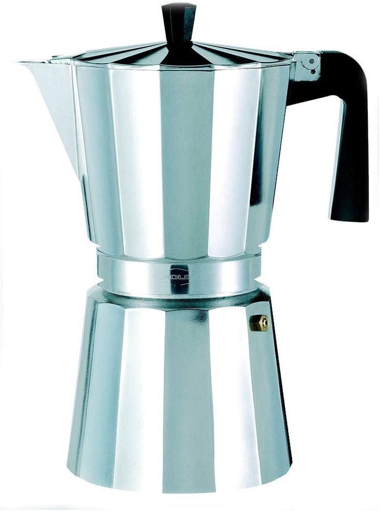 Oroley - Cafetera Italiana New Vitro | Aluminio | 6 Tazas ...