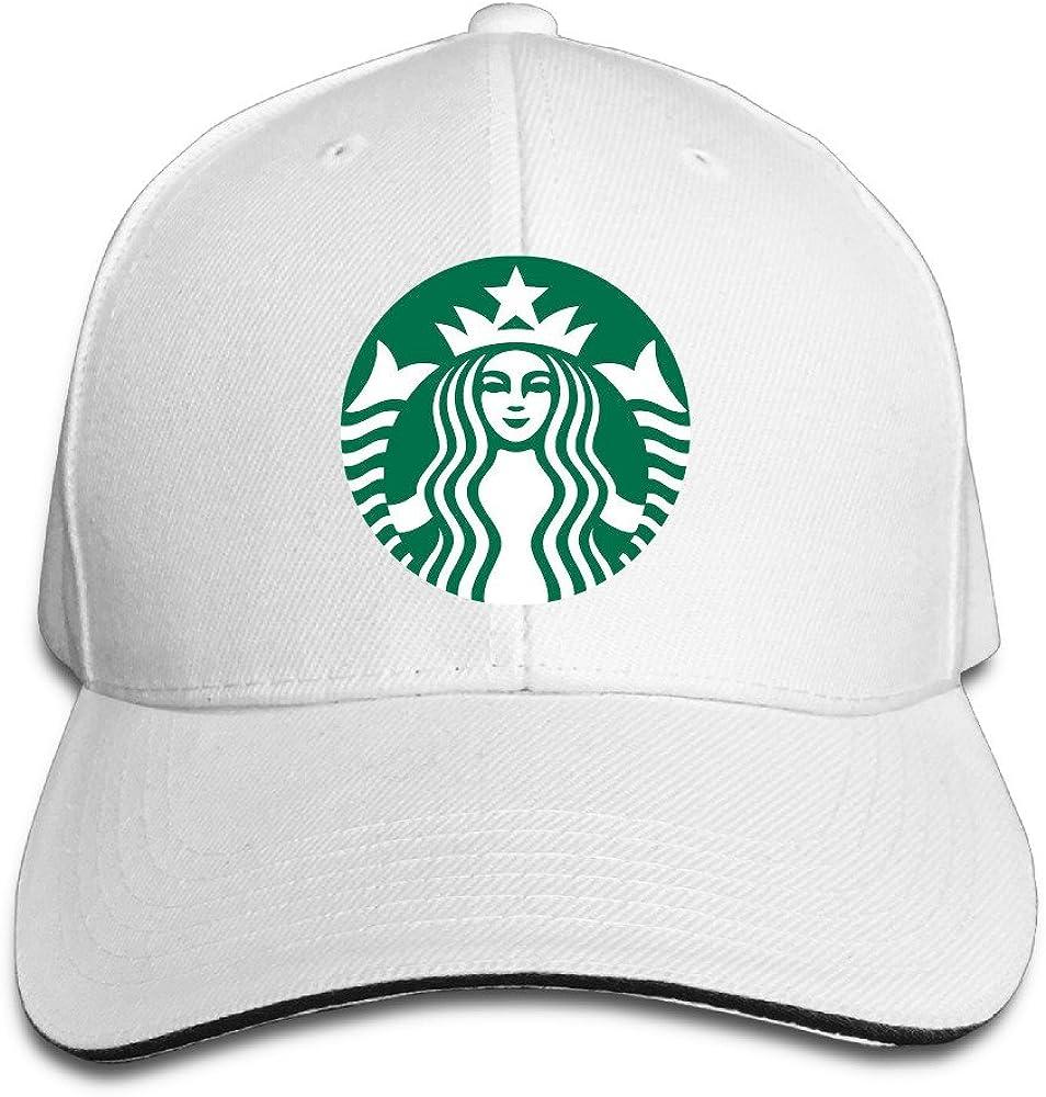 YesYouGO Starbucks Logo ajustable Gorra de béisbol visera sombrero ...