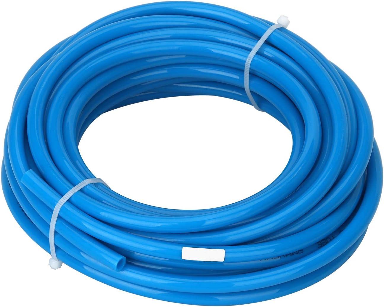 Dia 8mm//12mm Resist High-Temperature//Pressure//Abrasion 16.4ft Surprecision PU Plastic Air Hose Tube Durable Length 5m