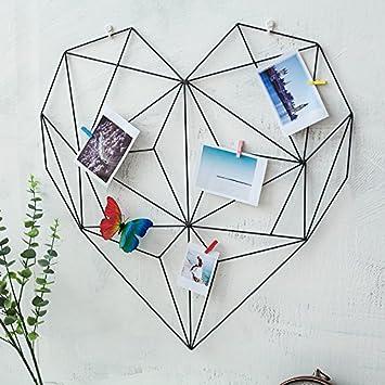 Amazon.de: Bügeleisen Kunst grid Foto Wandschmuck herzförmigen ...