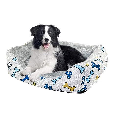 DZL- Cama para Perros 58 * 40cm Cama para Perros medianos ...