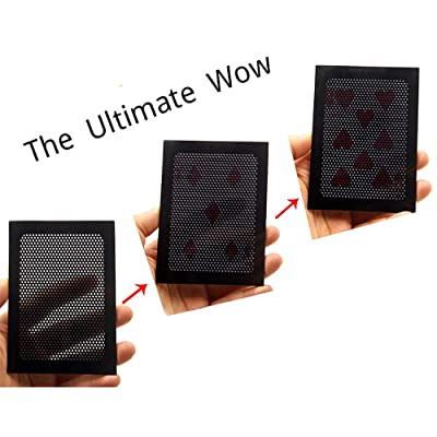 Enjoyer Magic Cards-The Ultimate Wow 3.0 Magic Tricks Change Twice Card Magic Gimmick Close Up Magic Props (1Pc): Toys & Games