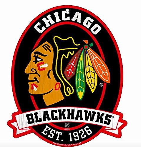 Sign Chicago Blackhawks Street - 11X13