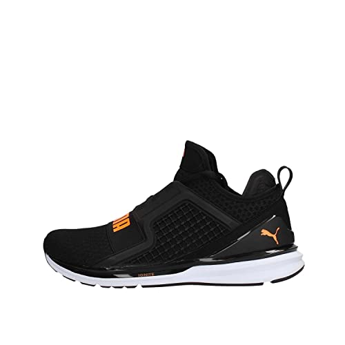 Puma Ignite Limitless Sneaker Uomo 189495 12 Black Fluo Orange