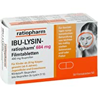 IBU-LYSIN-ratiopharm 684mg 50 stk