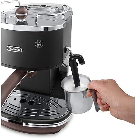 DeLonghi ECOV311.BK Cafetera Espresso Vintage Icona, Independiente ...
