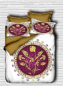 Pearl Home Multi Color King Size Quilt Cover Set