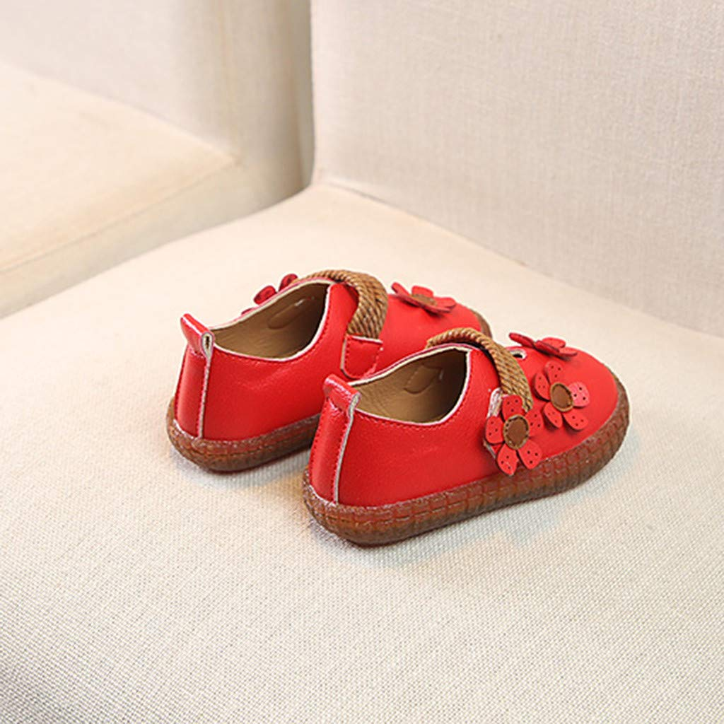 LIKESIDE Princess Slipper Flat Soft for Baby Red