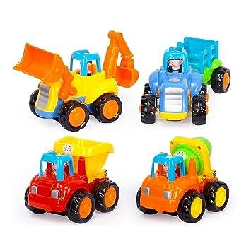 Vehculos de Construccin Plastico Mini Juguetes Set de Camiones