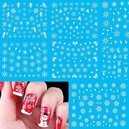 ILOVEDIY Estamper Impression 3D Autocollant Noel Image Timbres Plaque Manucure Nail Art Déco des Ongles (#13) Yong Li Factory