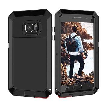 Beeasy Funda Samsung Galaxy S7,Antigolpes Rígida Robusta Antigravedad Carcasa Resistente al Impacto Militar Duradera Blindada Fuerte de Seguridad al ...