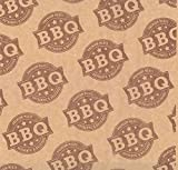12X12 Natural Grease Resistant BBQ Basket Liner (2000 per case) McN # 018621