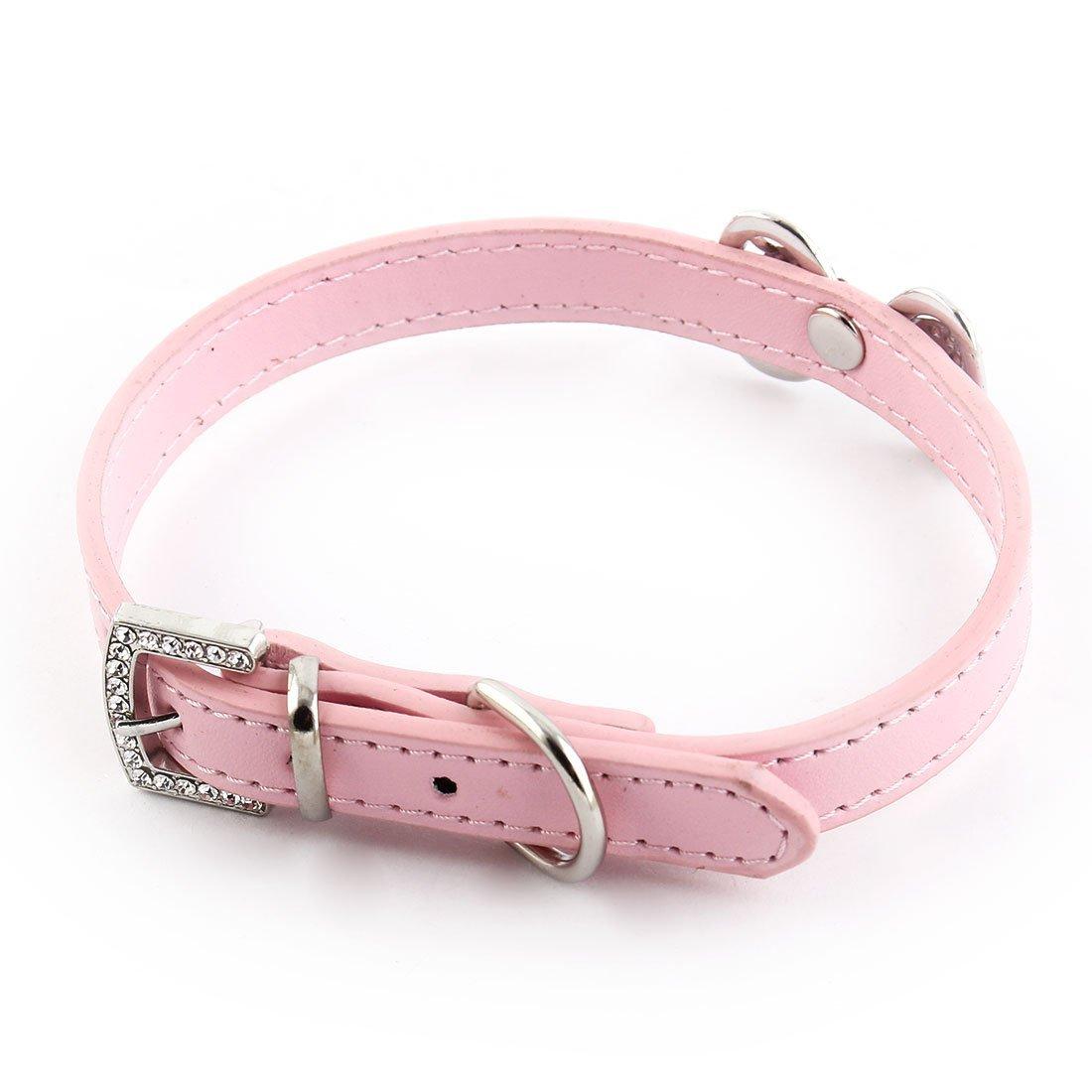 Amazon.com : eDealMax Forma decoración Bowknot imitación de Diamantes de imitación Con incrustaciones Ajustable Collar del gato del perro casero : Pet ...