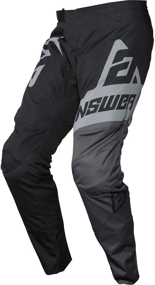 Answer Racing A20 Syncron Voyd Youth Boys Off-Road Motorcycle Pants Black//Charcoal//Steel 26
