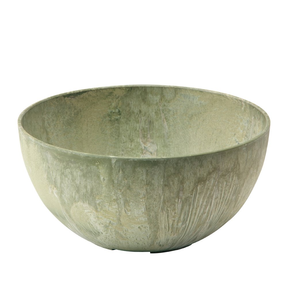 Perfect Amazon.com : Novelty 31121 Napa Bowl Planter, Sage, 12-Inch  ML77