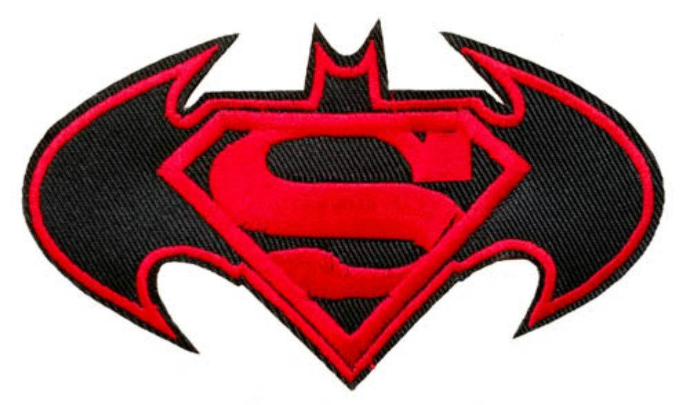 Amazon Batman Vs Superman Movie Logo Embroidered Iron On Or Sew