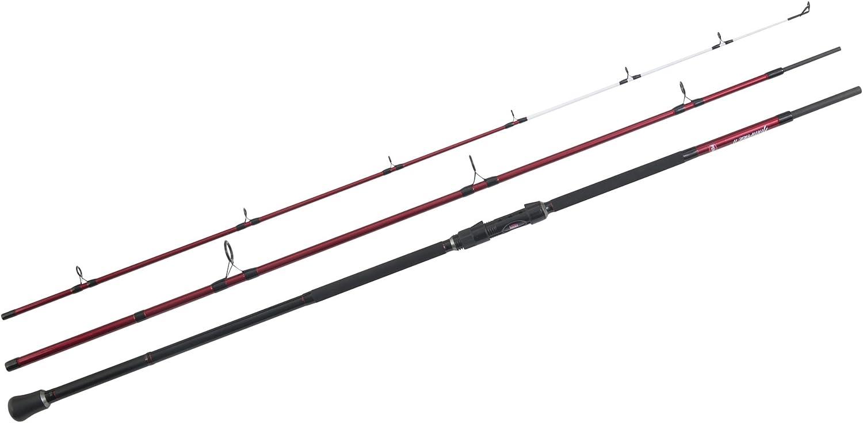 Penn Rampage II Bass - Caña de Pescar (3 Piezas), Color Rojo y ...