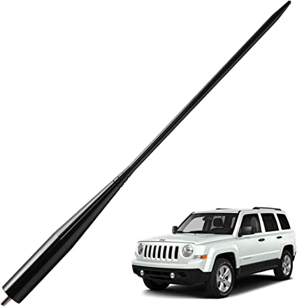 "For 2007-2017 Jeep Wrangler JK AM FM Antenna 13/"" Short Stubby Car Aerial"