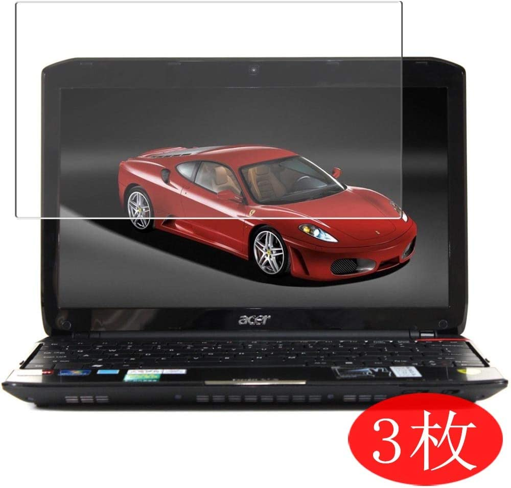 """【3 Pack】 Synvy Screen Protector for Acer Ferrari One 200 FO200-314G50n 11.6"""" TPU Flexible HD Film Protective Protectors [Not Tempered Glass]"""