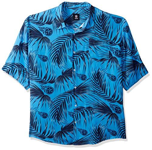 NFL Mens Floral Shirt: Tennessee Titans, XXX - Shirt Titan Pocket