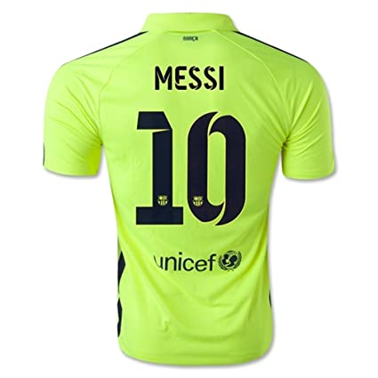 fb0a6cc65 Image Unavailable. Image not available for. Color  Nike Barcelona 3rd  Jersey 2014-15 Messi  10 Size Adult X-Large