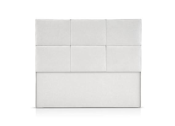 MAXCOLCHON Cabecero Sevilla cama de 150 (160x120) cm Polipiel Blanco: MaxColchon: Amazon.es: Hogar