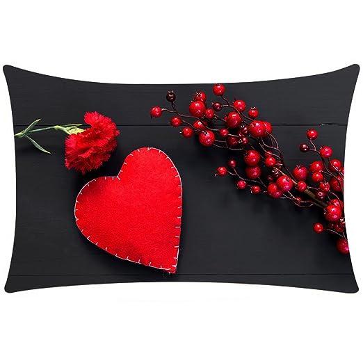Loolik Fundas de Cojines, Día de San Valentín Amor Patrón ...