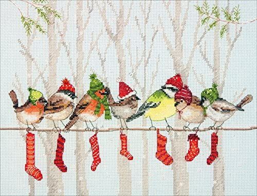 1242 Winter silence Counted Cross Stitch Kit OVEN