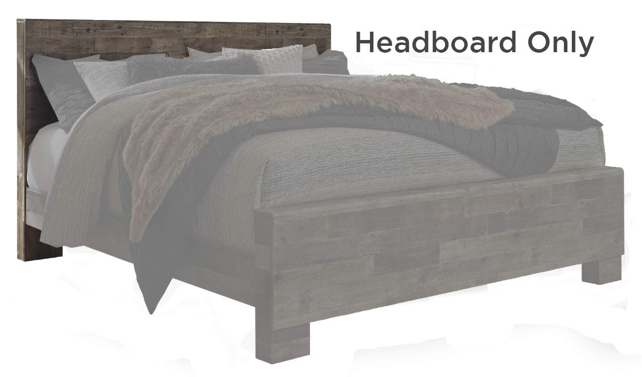Signature Design by Ashley B200-58 Derekson King Panel Headboard, Multi Gray by Signature Design by Ashley