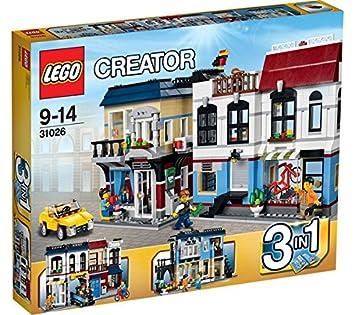 Creator Lego Vélos De Magasin Café Et Le 31026 SVMUzp
